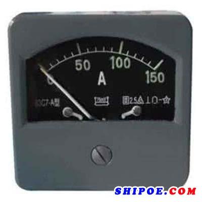上海自一船用仪表有限公司提示船用电流表的使用方法及步骤