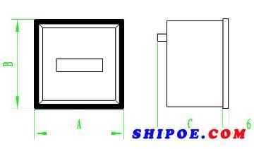上海自一船用仪表有限公司生产的船用计时器