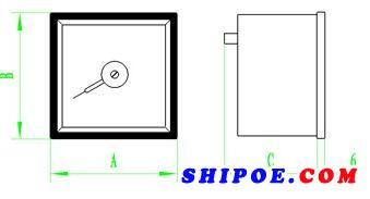 上海自一船用仪表有限公司生产的同步指示器