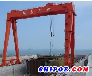 山东欧森管道科技有限公司为宁波新乐造船提供的船用压载管线系统 清扫管线系统
