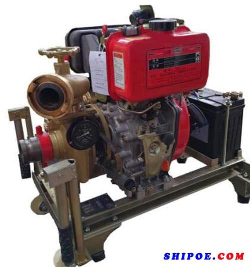 天台县海洋泵阀有限公司生产的65CWY船用应急消防泵