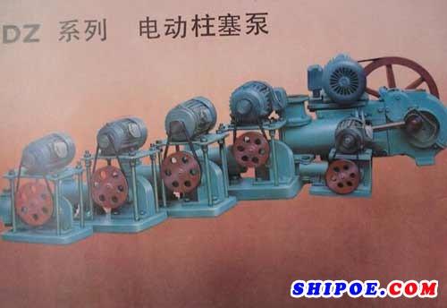 天台县海洋泵阀有限公司生产的DZ系列电动柱塞泵