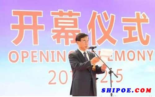 ▲中国船舶工业行业协会常务副会长陈民俊