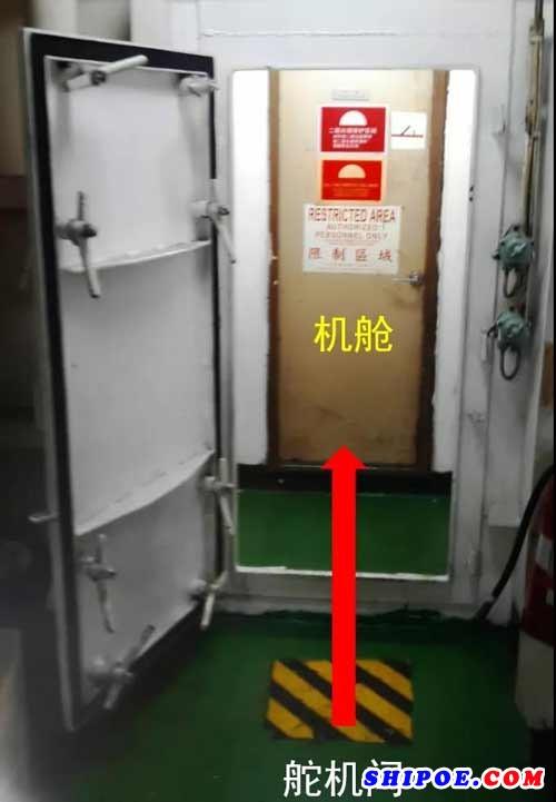 船用应急消防泵的位置