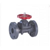 PVC-C 法兰式隔膜阀—中国佑利