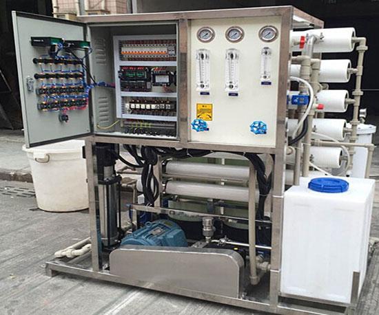 6吨每天海水淡化设备—海波环保