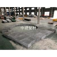 风力发电平台玻璃钢格栅应用案例—南通中肯
