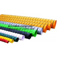 大風牌PVC尼龍布風管、阻燃耐酸堿伸縮管道