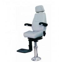 TR-002 铝合金立柱/气压升降 固定式驾驶椅—天润船用