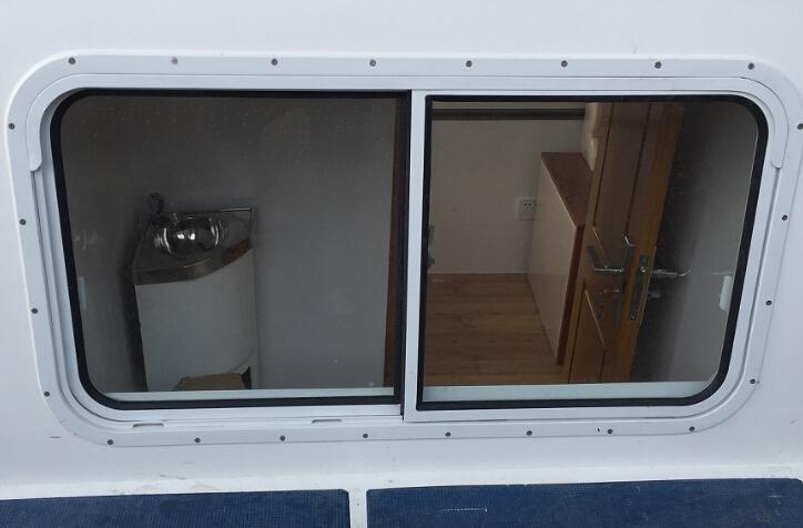 船用铝质双移窗—东海船舶