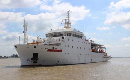 南高精为巴基斯坦测量船打包供货的推进动力系统成功交付