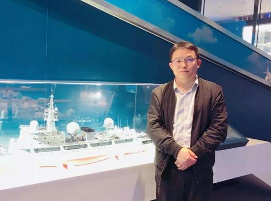 七〇八所张祥瑞入选国防科技工业十大创新人物