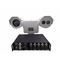 夜通航海事海警渔政船执法跟踪取证摄像仪远程海洋监测系统