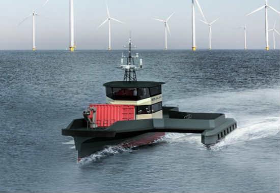 Chartwell与BAR合作研发下一代海上人员运送船