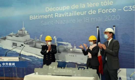 法国海军开工新一代大型舰队补给舰