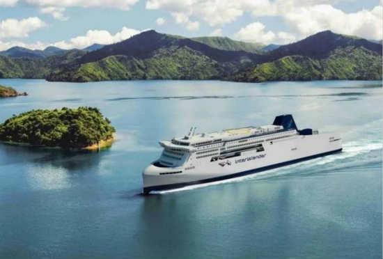 KiwiRail拟建造的渡船设计效果图