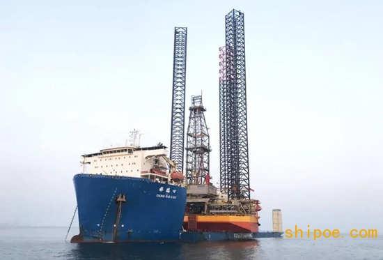 """中远海运 5万吨半潜船""""祥瑞口""""轮"""