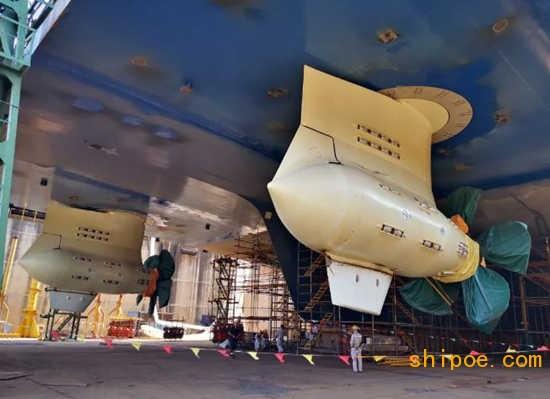 厦船重工2800客邮轮型客滚船