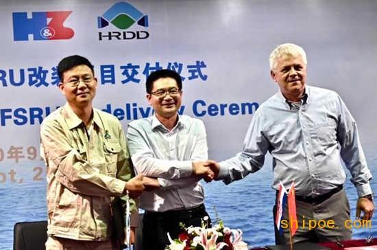"""再创第一!华润大东完成""""超级工程""""LNG-FSRU改装项目"""