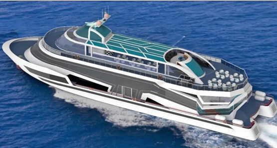 武汉理工船舶签订一艘338客位豪华旅游客船设计合同