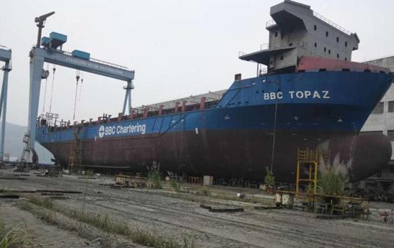江西江州联合造船有限公司所有的JZ1039号船舶