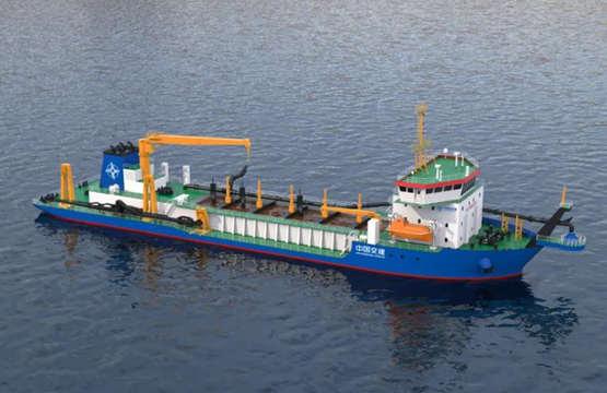 中国船舶七O八所签订两艘智能挖泥船项目设计合同