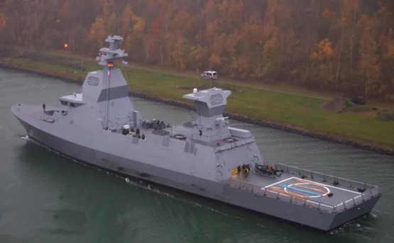 """以色列海军接收首艘""""萨尔-6""""型护卫舰"""