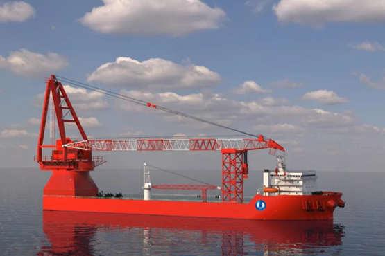 3000吨全回转起重船