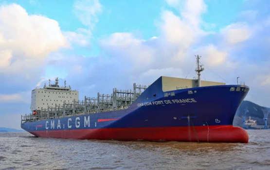 舟山中远海运重工建造的3600TEU系列集装箱船