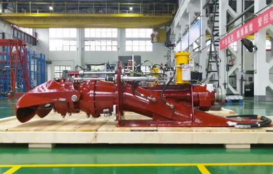 武汉船机系列喷水推进装置产品全部完工发运出厂