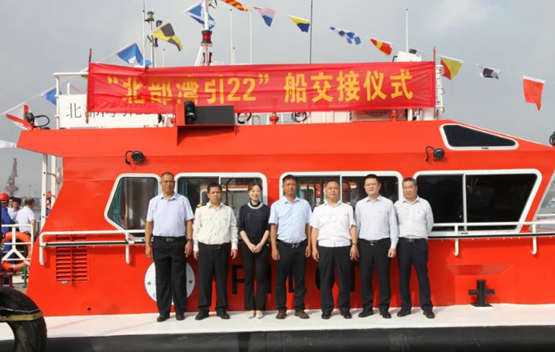 江龙船艇交付北部湾20米全铝合金引航船