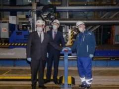 俄罗斯红星造船厂开始建造Arc7破冰型LNG船的首制船