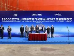 江南造船成功交付FRU,向海工市场跨出关键一步