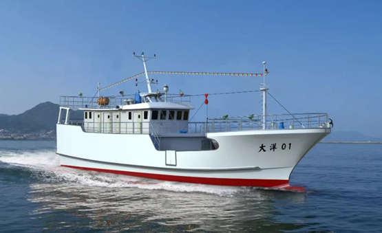 中创海洋与大洋世家签订首批10艘27.6m 玻璃钢金枪鱼延绳钓渔船建造合同