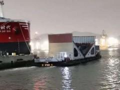 厦船重工承接的黄船外协分段实现按期保质交货
