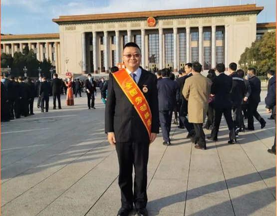 沪东中华造船何江华同志荣获2020年全国劳动模范称号