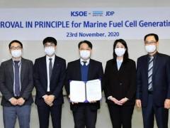 韩船企获DNV GL船用燃料电池系统设计原则性认可