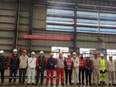外高桥造船21万吨散货船LNG 燃料供气系统储罐项目在华滋能源顺利开工