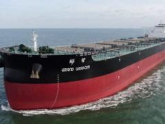 武船集团北船重工又一艘32.5万吨矿砂船试航凯旋!