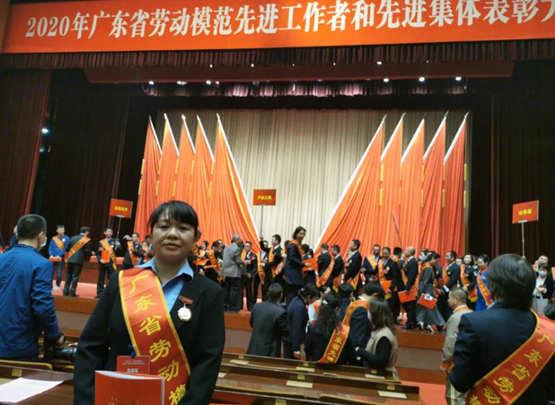 廣東省勞動模范鐘麗紅: 打通軍艦經脈的女工匠