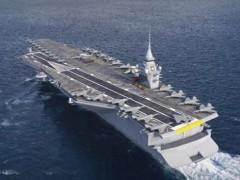 法国下一代航空母舰将采用核动力
