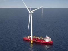 乌斯坦设计美国第一艘符合琼斯法案的海上风场抛石船