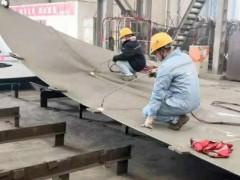 国内首座移动式自安装井口平台开始铺设龙骨