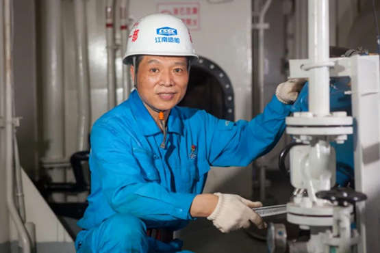 江南造船|高级技师、船舶钳工钱民军