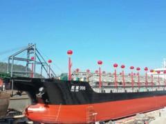 """立新船舶建造129米自吸自卸砂船""""航顺998""""顺利吉水"""