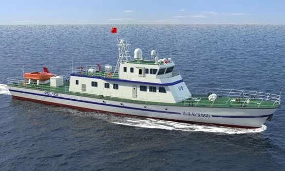 中國船舶701所簽訂三型執法船設計合同