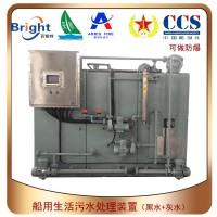 SWCM(E)-20船舶生活污水黑灰水处理装置CCS船级社