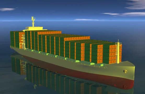 黄埔文冲获中联航运签署2艘1900TEU集装箱船建造合同