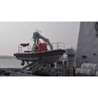 A 型救助艇降放装置-北海救生