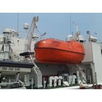 重力倒臂式救生艇降放装置-北海救生